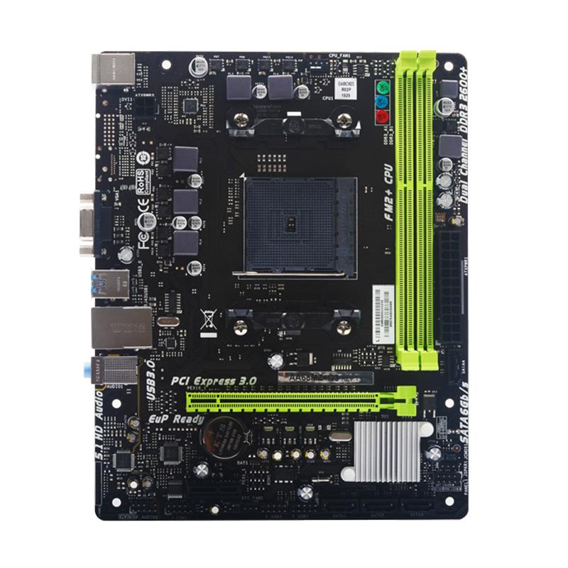 SUPox/磐正主板 AA68MZ+Q3 全新AMD FM2+/FM2 A68芯片电脑主板 云南主板批发