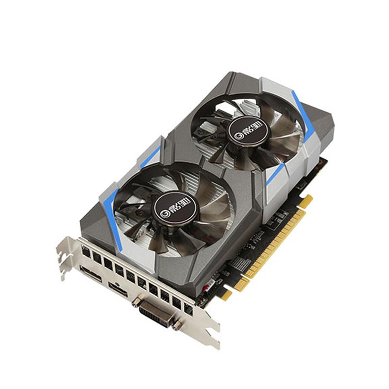 影驰GTX1050Ti骁将 4G D5独显高端台式电脑游戏电竞显卡 昆明电脑商城特推