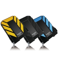 威刚 ADATA HD710 1TB IP68防水防尘 高等级防震 2.5英寸 USB3.0 三防移动硬盘