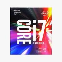 云南CPU批发 Intel/英特尔 I7-7700T  酷睿四核CPU处理器4.2G