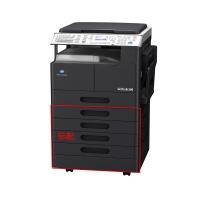 柯尼卡 美能达打印机B266家庭办公网络激光A3黑白打印扫描复印