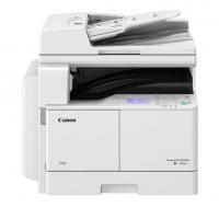 佳能(CANON)iR2204N A3黑白激光数码复合机一体机含盖板(打印/复印/扫描/WiFi)