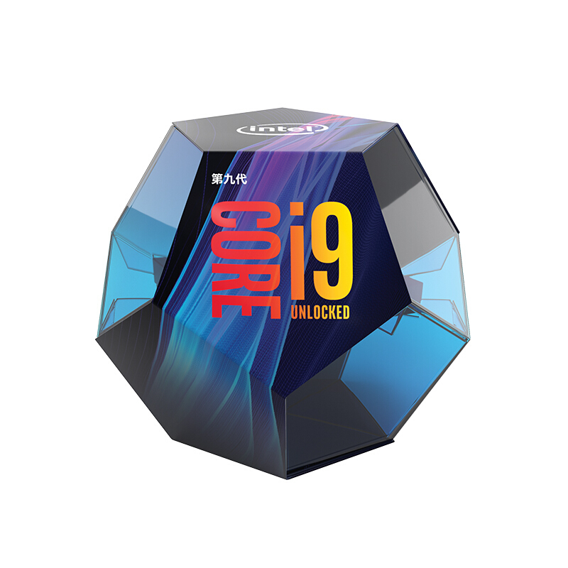 英特尔(Intel)i9-9900k 酷睿八核 盒装CPU处理器 云南电脑批发