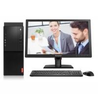 联想(Lenovo) 启天M410/M415商用家用办公娱乐台式电脑主机 主机+19.5英寸显示器