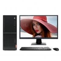 联想(Lenovo)扬天M6603K 商用办公台式电脑整机 标配主机+19.5英寸液晶显示器 i5-7400 4G 1T+16G傲腾 集显