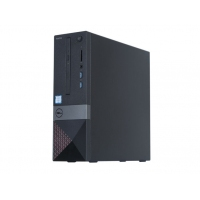 戴尔(DELL)Vostro V3268 成就系列 小机箱商用台式机电脑主机 税控电脑 可换Win7 主机+E2318H 23英寸显示器 i3-7100 4GB 1TB 集显 标配