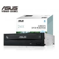 华硕(ASUS) 24倍速 SATA DVD刻录机 黑色(DRW-24D5MT)(内置)