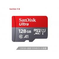 闪迪(SanDisk)128GB TF(MicroSD)存储卡 U1 C10 A1 至尊高速移动版 读速100MB/s APP运行更流畅
