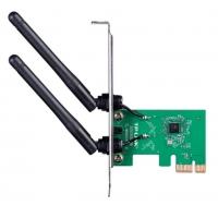 TP-LINK 千兆双频5G无线网卡PCI-E台式机电脑接收器WIFI穿墙王 支持模拟AP TL-WN881N 单频300M