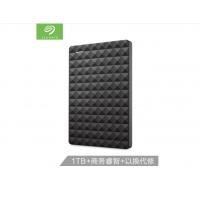 希捷(Seagate)500G USB3.0移动硬盘 Expansion 睿翼 2.5英寸黑钻版 商务时尚 便携 经典黑 (STEA1000400)