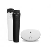 漫步者(EDIFIER)MU800 家庭智能终端全兼容无线K歌麦克风 手机K歌麦克风 黑白套装 黑白套装