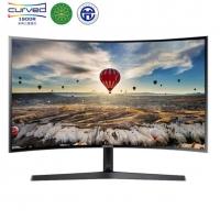 三星(SAMSUNG)23.5英寸1800R曲面 广视角微边框 HDMI高清接口 电脑液晶显示器 (C24F396FHC)