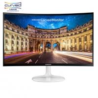 三星(SAMSUNG)C24F399FH/C24F396FH 23.5英寸曲面显示器显示屏24 C24F399FHC白色/23.5英寸曲面