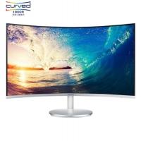 三星(SAMSUNG)27英寸 1800R曲面旗舰窄边框 HDMI/DP高清接口 电脑显示器 C27F591FDC(内置音箱)