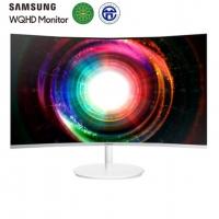 三星(SAMSUNG)27英寸2K/QHD高分 1800R曲率量子点技术 HDMI/DP全高清接口 电脑显示器(C27H711QEC)