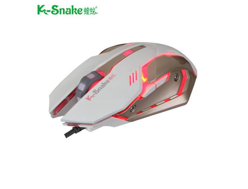 蝰蛇 7D游戏鼠标 呼吸发光鼠标 台式笔记本电脑USB鼠标 竞技游戏鼠标 479863
