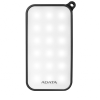 ADATA/威刚 D8000L 8000M毫安充电宝手机通用移动电源防水防尘 黑色