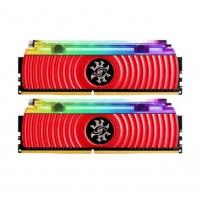 今日特价 威刚(ADATA) XPG 龙耀D80 DDR4液体水冷台式机内存条 RGB灯条 3600 8G*2套条