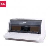 得力610K针式打印机发票增值税控快递单票税控营改增82列票平推DL 得力DL-610K打印机