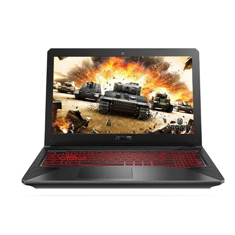 华硕(ASUS) 飞行堡垒6代 FX86FE8300 15.6英寸游戏笔记本电脑FX86吃鸡本轻薄便携商务办公 i5-8300HQ(2.2)8G/1TB+256固态/GTX1050TI-4G
