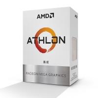 AMD 速龙200GE 盒装CPU双核四线处理器 ZEN架构 带集显 支持A320