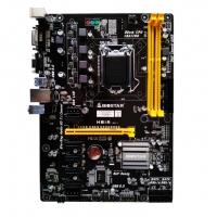 BIOSTAR/映泰 H81A BTC台式机主板 1150针 H81芯片 6卡主板