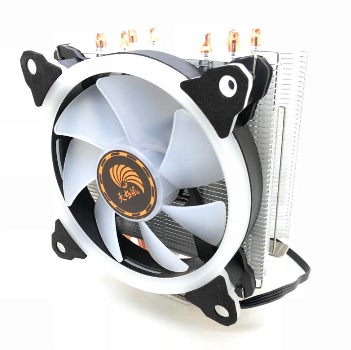 天极风玄霜400散熱器散热器台式机cpu风扇处理器intel cpu静音amd