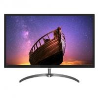 飞利浦 326E8FJSB 2K显示器 31.5英寸 游戏不闪屏 HDMI液晶电脑屏幕 显示屏32 10.7亿色彩 高清FreeSync技术