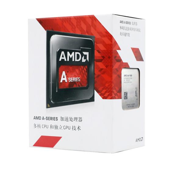 AMD APU系列 A6-7480 处理器 2核 R5核显 3.5GHz FM2+接口 盒装APU