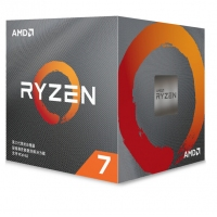AMD锐龙7 3800X 处理器 (r7)7nm 8核16线程 3.9GHz 105W AM4接口 盒装CPU 云南电脑批发