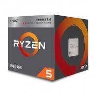 AMD 锐龙5 2400G 处理器 (r5) 4核8线程 搭载Radeon Vega11 Graphic 3.6GHz AM4接口 盒装CPU 云南电脑批发