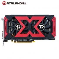 迪兰(Dataland)RX 580 2048SP 4G X-Serial 战将S 1284-1310/7000MHz 4GB/256-bit GDDR5 DX12独立游戏显卡 云南电脑批发