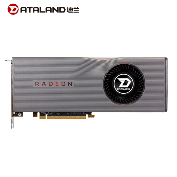 云南电脑批发 迪兰(Dataland)RX 5700XT 8G 1605-175514GHz 8GB256-bit GDDR6 DX12 VR游戏显卡
