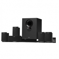 漫步者(EDIFIER) R501BT 虚拟环绕5.1声道家庭影院 电视音响 客厅音响 多媒体音箱 音箱 黑色