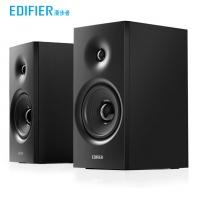 漫步者(EDIFIER) R1080BT 2.0声道 木质HIFI无线蓝牙音箱多媒体电视电脑音响 黑色
