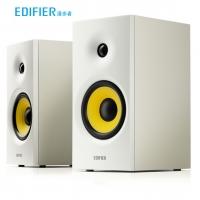 漫步者(EDIFIER)R1080BT 2.0声道 电脑音箱 多媒体音箱 蓝牙音箱 木质音响 白色