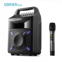 漫步者 (EDIFIER) PP506 6.5英寸专业级移动音响 广场舞音响 蓝牙手提音箱 户外便携式音响 会议音响 黑色