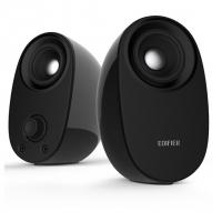 漫步者(EDIFIER) R30T 2.0多媒体有源音箱 桌面低音炮音响 手机电脑音箱 黑色