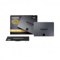 三星(SAMSUNG)4TB SSD固态硬盘 SATA3.0接口 860 QVO(MZ-76Q4T0B ) 云南电脑批发