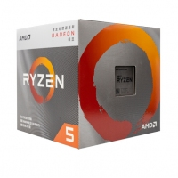 AMD 锐龙5 3400G 处理器 (r5) 4核8线程 搭载Radeon Vega Graphics 3.7GHz AM4接口 盒装CPU 昆明CPU批发