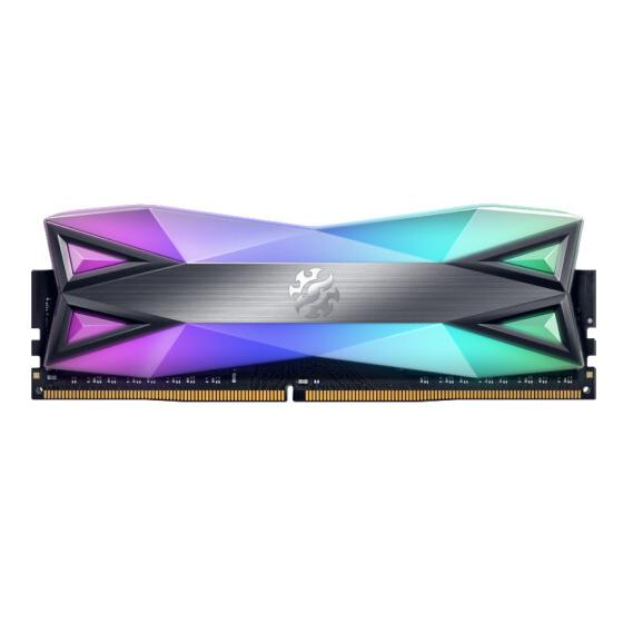 威刚(ADATA)DDR4 3000 16GB 台式机内存 XPG-龙耀D60G(RGB灯条)幻彩灯光内存