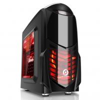 游戏风暴 小鲨鱼(黑)迷你小机箱USB3.0机箱,兼容SDD和高145mm散热
