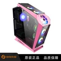 游戏风暴 机械战舰 攀登者 异型机箱 (四面玻璃,360冷排,U3,兼容SSD,长显卡,高散热)专业电竞异型机箱