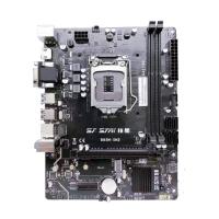 技星B85M-SM2主板 VGA+HDMI M.2