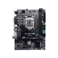 技星H81M-S2主板 VGA+HDMI